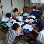 Umidassで勉強する中学生